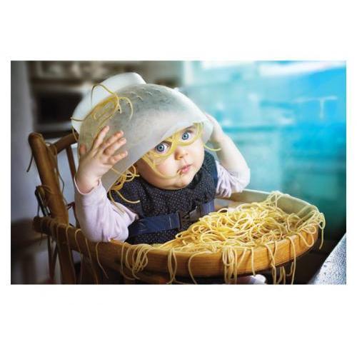 Birthday - Baby And Spaghetti