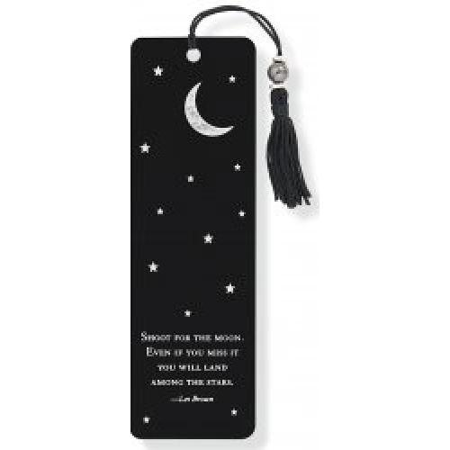 Bookmarks - Beaded Shoot For The Moon