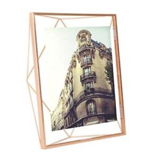 Prisma Frame Photo Display 5x7 Copper