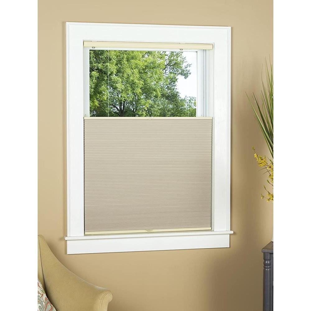 Top Down Bottom Up Honeycomb Shade Blackout Natural 35in X 64in