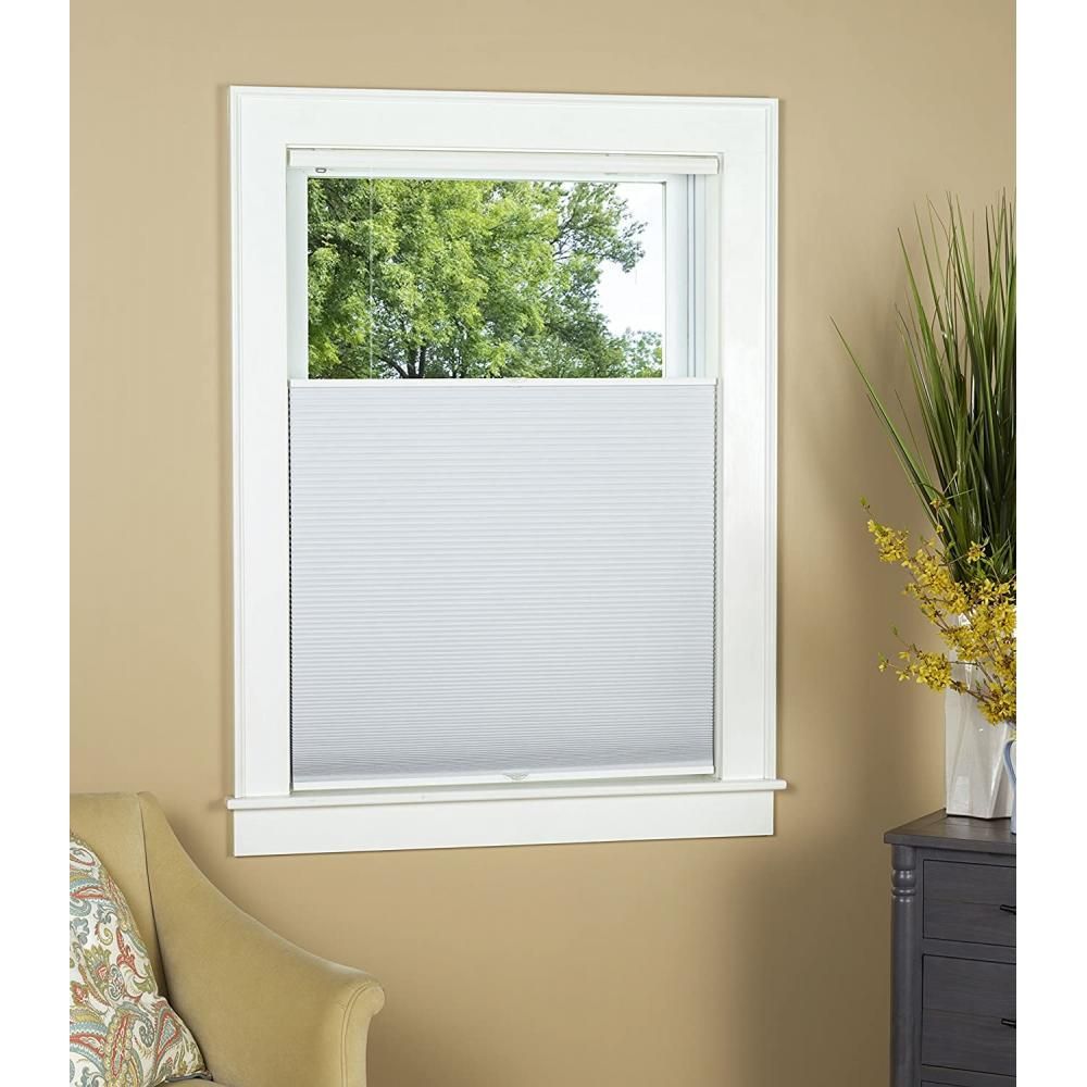 Top Down Bottom Up Honeycomb Shade Blackout White 33in X 64in