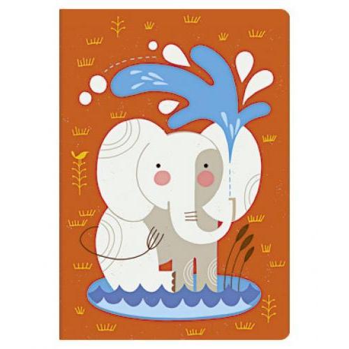 Journal - Midi - Lined - Baby Elephant