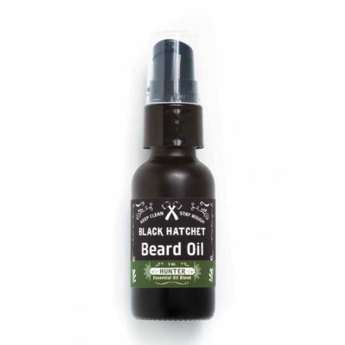 Black Hatchet Beard Oil Hunter