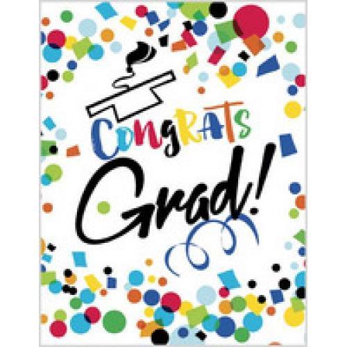 Graduation - Colorful Congrats