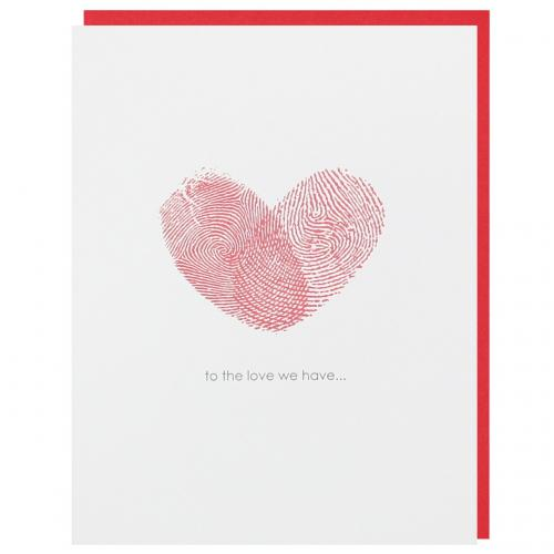 Valentine - Fingerprint Heart