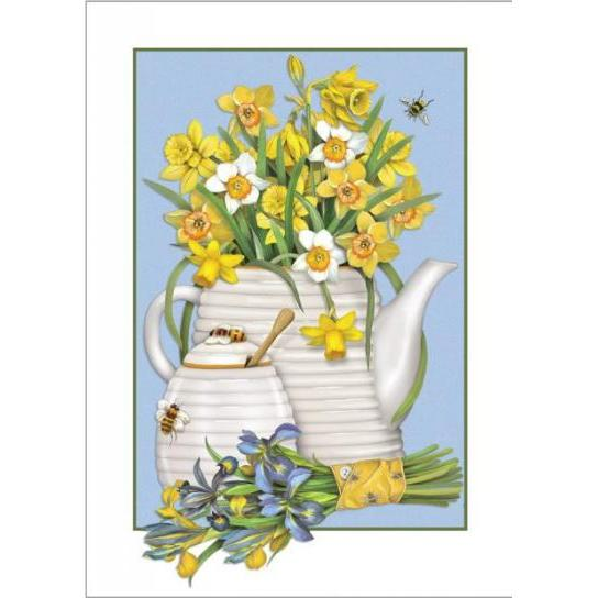 Mothers Day - Daffodils Teapot