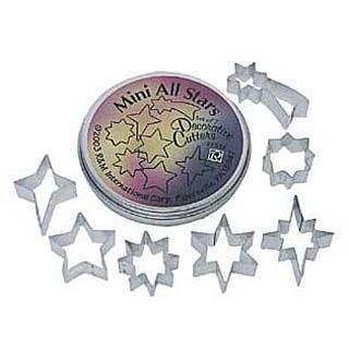 Boxed Set Cookie Cutter Set 7pc Mini Star