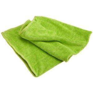 Microfiber Cloth Stainless Steel Green