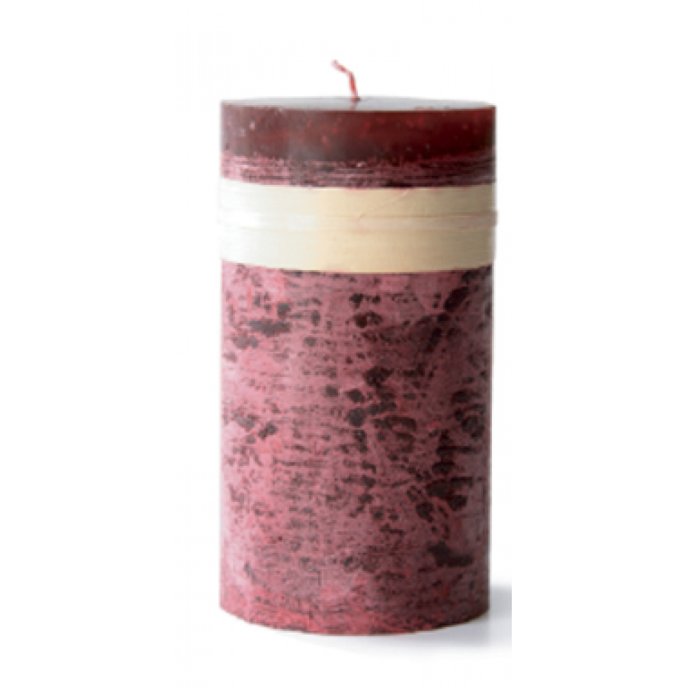 2 X 4in Pillar Candle - Wine