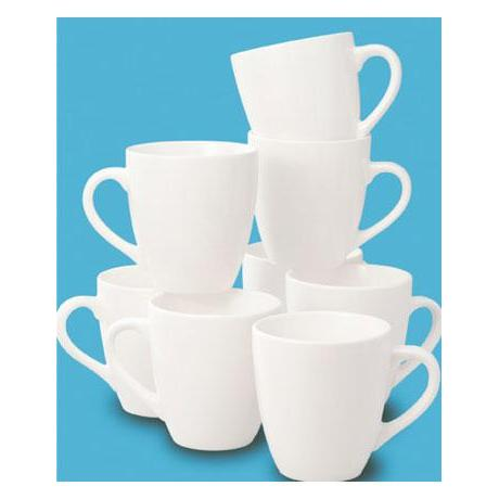 Dinnerware Basic White Mug