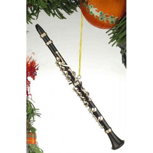 Ornament Clarinet Black