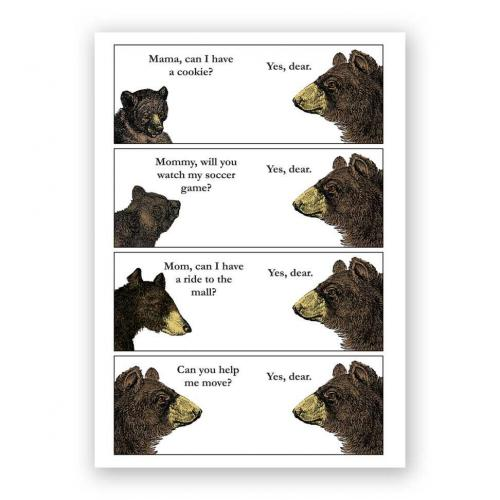 Mothers Day - Bear