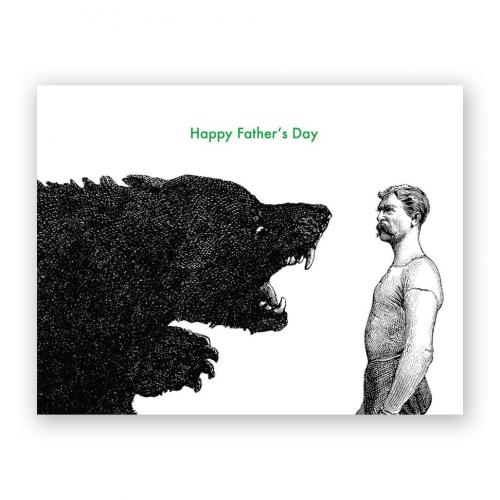 Fathers Day - Man Vs Bear