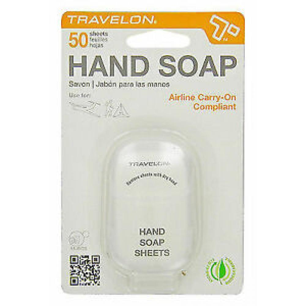 Toiletry Sheets - Hand Soap