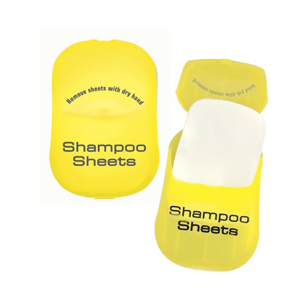 Toiletry Sheets - Shampoo