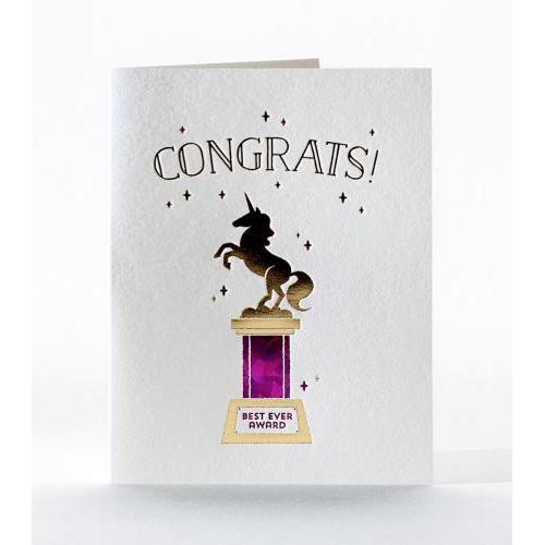 Congratulations - Unicorn Award