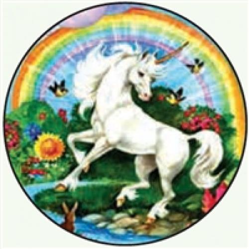 Round Magnet - Unicorn