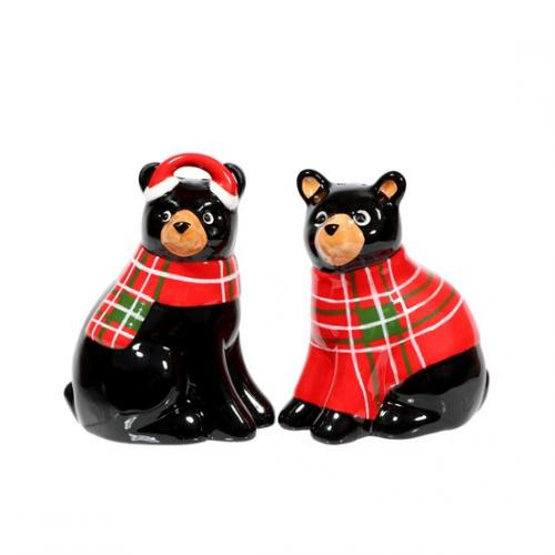 Christmas - Salt And Pepper Shaker - Bearly Winter Set