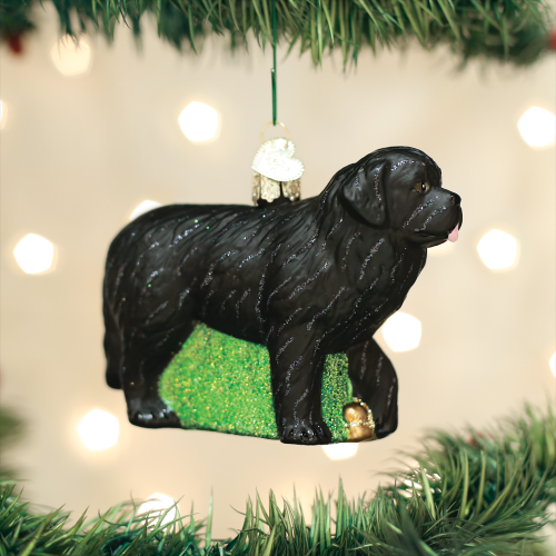 Christmas Ornament Dog Newfoundland