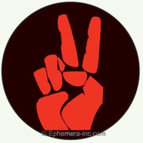 Button - Peace