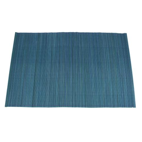 Placemat Bamboo 13x19 Teal (set/4)