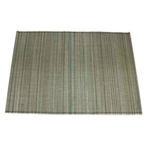 Placemat Bamboo 13x19 Smoke (set/4)