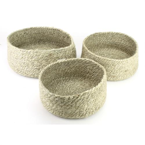Basket Jute Rope (set/3)