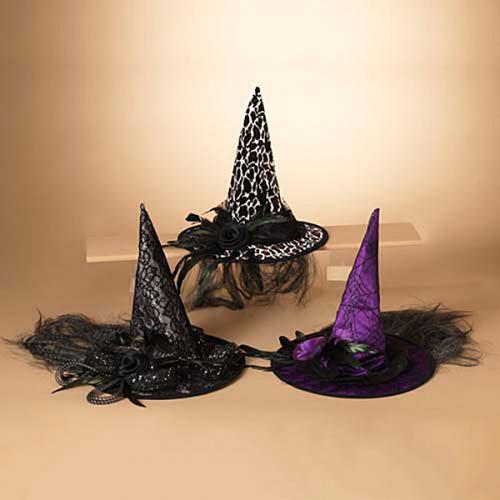 Halloween - Fabric Witch Hat