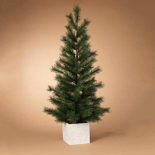 Christmas - Tree Pine In Wood