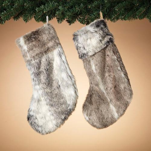 Christmas - Stocking - Faux Fur