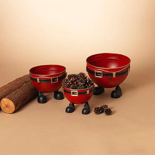 Christmas - Santa Pants Bucket 3 Asst Sm- 16.99 Med- 19.99 Lrg- 24.99