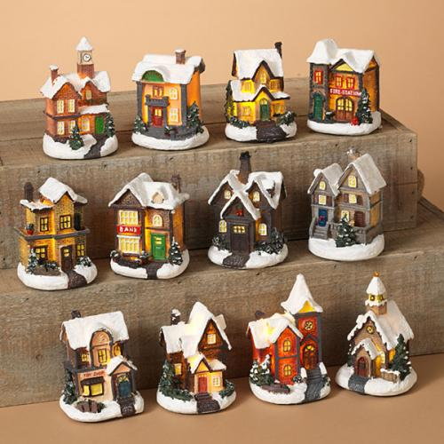Christmas - Village Holiday Houses Led