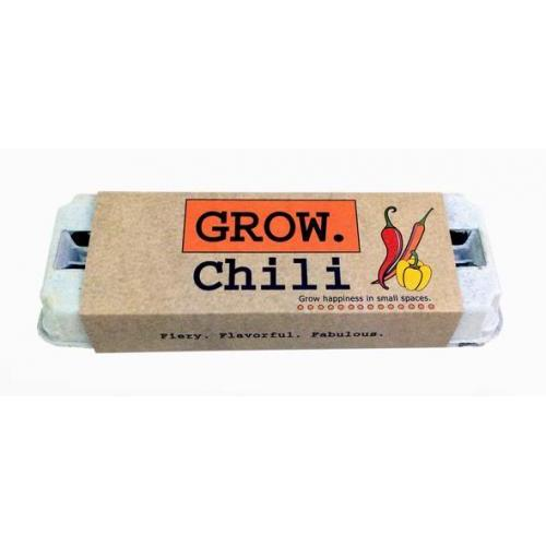 Seed Kit Grow Garden Chili