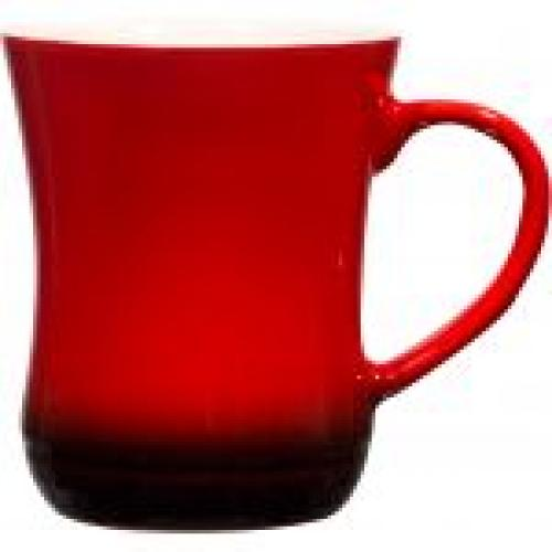Mug Belly Gradient Red 14oz