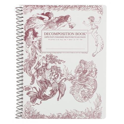 Decomposition Notebook - Spiral - Mermaids