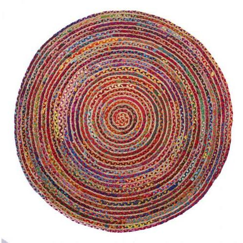 Round 5ft Valencia Rug Multi Bright