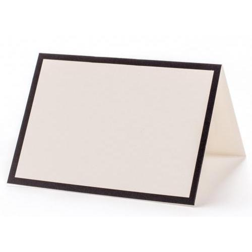 Place Card - Black Frame - Pack Of 12