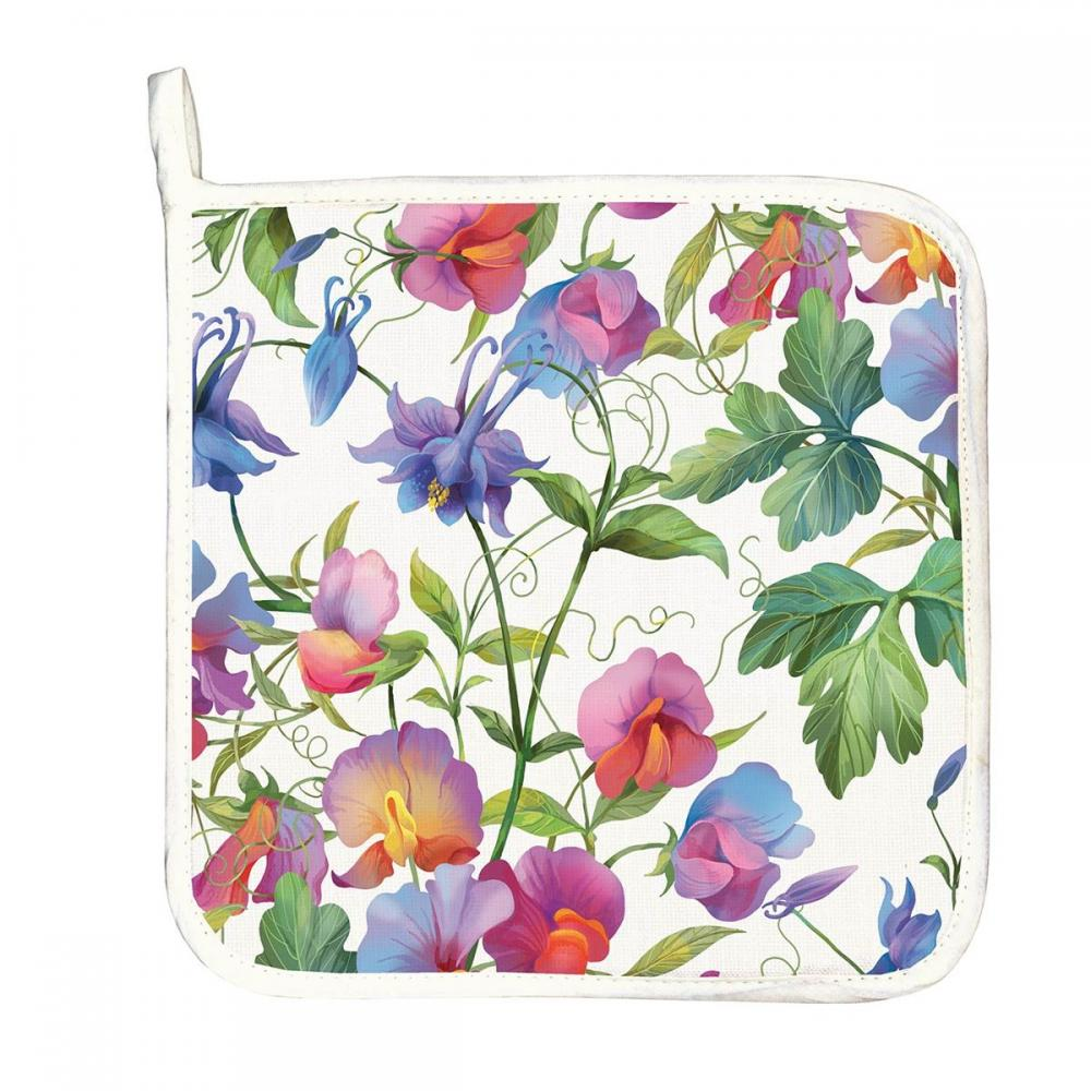 Pot Holder - Sweet Pea