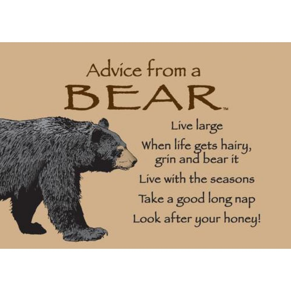 Bear Advice Magnet