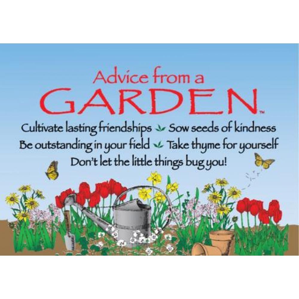 Garden Advice Magnet
