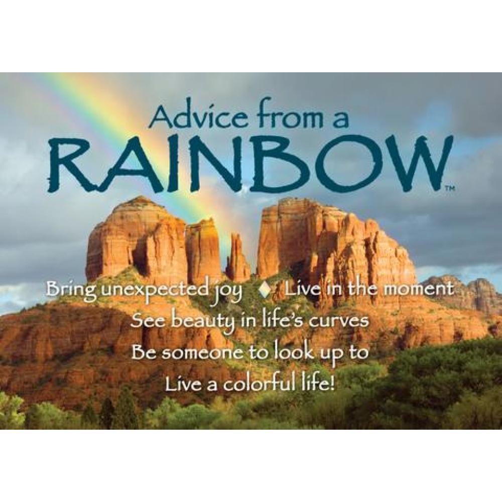 Rainbow Advice Magnet
