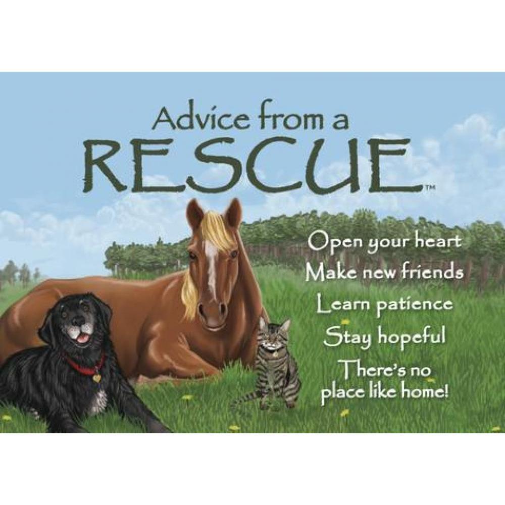 Rescue Advice Magnet