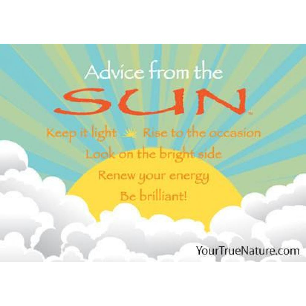 Sun Advice Magnet