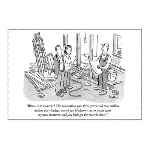 Any Occasion - New Yorker - Worst Case Scenerio