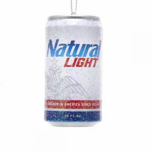 Ornament - Natural Light Beer Can