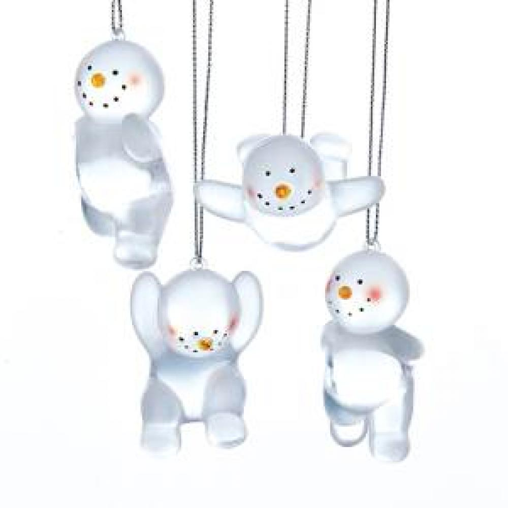 Ornament - Snowman Frosted