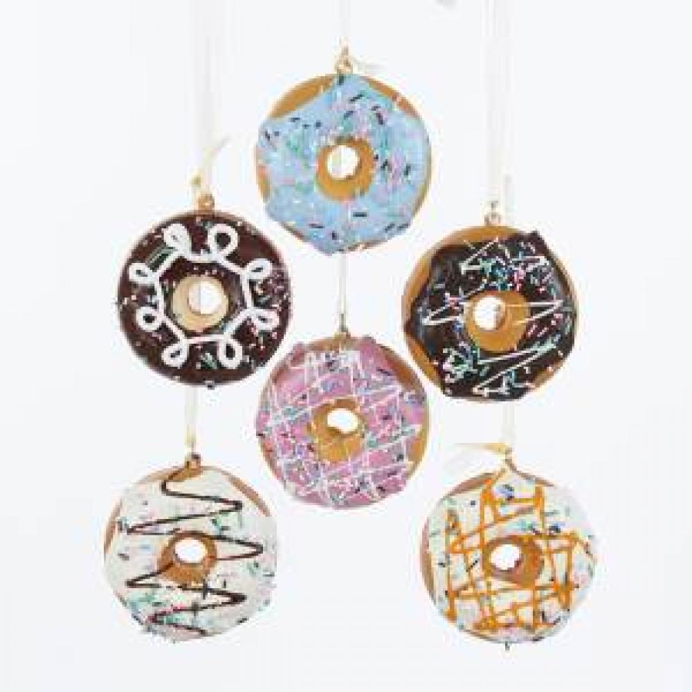 Ornament - Donut 2 Asst