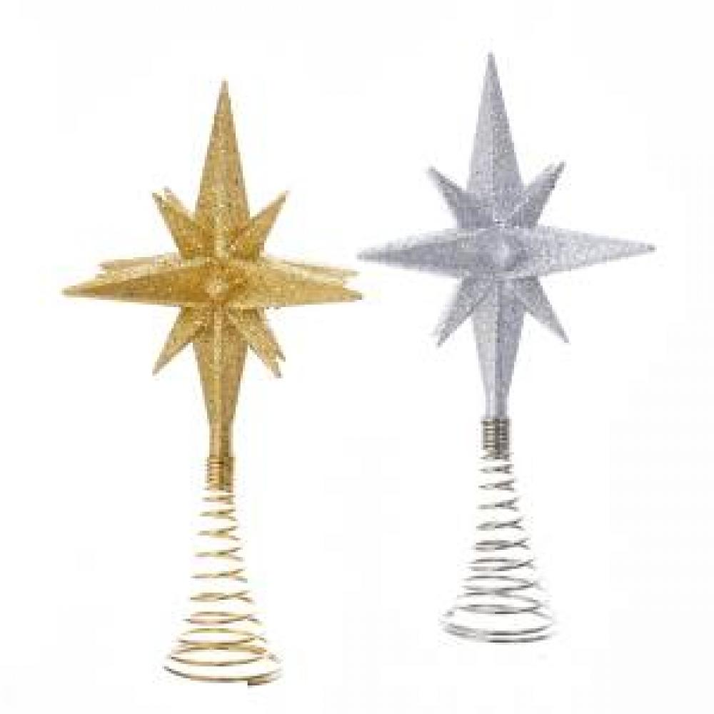 Tree Topper - Polaris Gold/silver