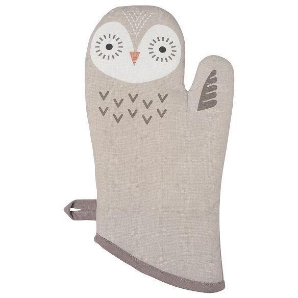 Oven Mitt Critter Oliver Owl