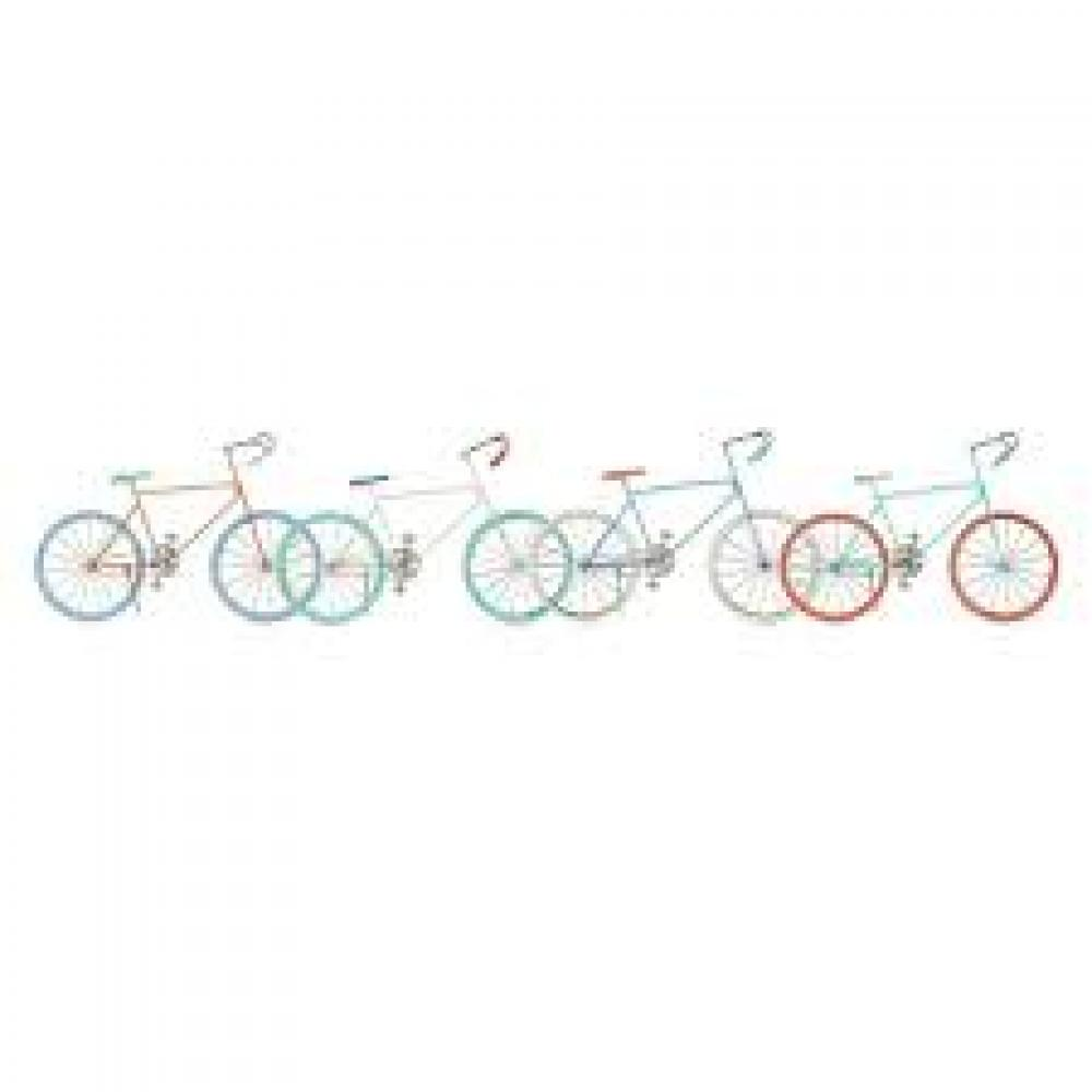 Doodles Bicycle Assorted Pastels